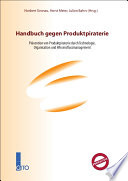 Handbuch gegen Produktpiraterie