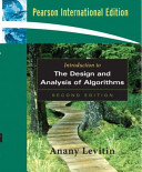 Introduction to the Design   Analysis of Algorithms