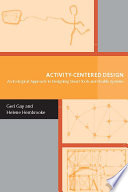 Activity Centered Design
