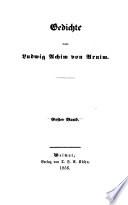 Gedichte von Ludwig Achim von Arnim