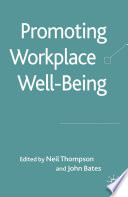 Promoting Workplace Well being