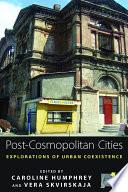 Post-cosmopolitan Cities