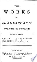 The Works Of Shakespeare In Seven Volumes book