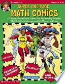 Super One Page Math Comics