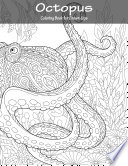 Octopus Coloring Book for Grown Ups 1