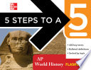 5 Steps to a 5 AP World History Flashcards