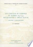 Los corrales de comedias de Madrid, 1632-1745