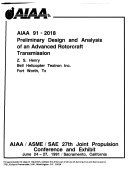 AIAA SAE ASME ASEE 27th Joint Propulsion Conference  91 2018   91 2092