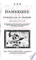 Les oeuvres d'Ambroise Paré ...