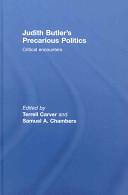 Judith Butler's Precarious Politics