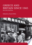 Greece and Britain since 1945 Second Edition