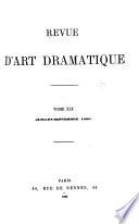 La Revue d'art dramatique et musical