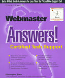 Webmaster Answers!