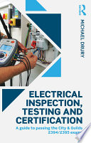 Electrical Inspection  Testing and Certification