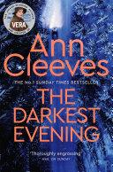 Book The Darkest Evening  A Vera Stanhope Novel 9