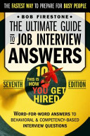 The Ultimate Guide to Job Interview Answers  Behavioral Interview Questions   Answers