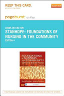 Foundations of Nursing in the Community Pageburst E book on Kno Retail Access Card