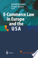 E Commerce Law in Europe and the USA