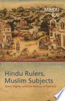 Hindu Rulers  Muslim Subjects Book PDF