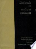 Diccionario de escritores mexicanos  siglo XX