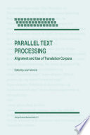 Parallel Text Processing That Started In 1995 The