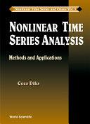 Nonlinear Time Series Analysis