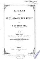 Systematik und Geschichte der Archäologie der Kunst