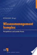 Wissensmanagement komplex