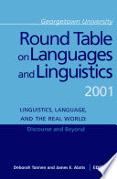 Georgetown University Round Table on Languages and Linguistics  GURT  2001