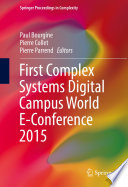 First Complex Systems Digital Campus World E Conference 2015