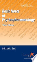 Basic Notes in Psychopharmacology