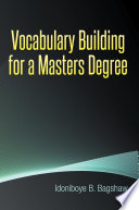 Vocabulary Building for a Masters Degree