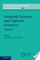 Integrable Systems And Algebraic Geometry