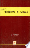 Modern Algebra (Abstract Algebra)