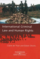 International Criminal Law and Human Rights
