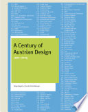 A Century of Austrian Design