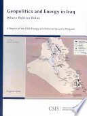Geopolitics and Energy in Iraq