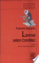 illustration L'animal selon Condillac