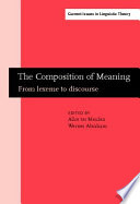 The Composition of Meaning