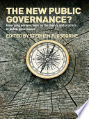 The New Public Governance