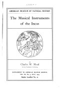 The Musical Instruments Of The Incas