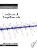 Handbook of Sleep Research Book PDF