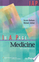 In A Page : rapid reference or review, in a page medicine,...