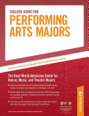 College Guide for Performing Arts Majors