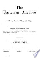 The Unitarian Advance