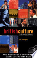 British Culture An Introduction