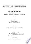 Manuel de conversation et dictionnaire ronga portugais fran  ais anglais