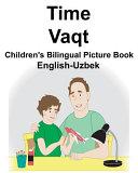 English Uzbek Time Vaqt Children S Bilingual Picture Book