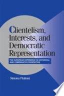 Clientelism, Interests, and Democratic Representation