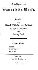 Shakespeare's dramatische Werke